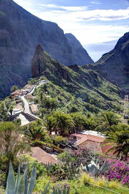 Barranco de Masca, Isla de Tenerife