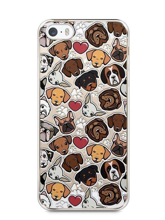 Capa Iphone 5/S Cachorros - SmartCases - Acessórios para celulares e tablets :)