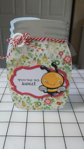 You are so sweet bee card