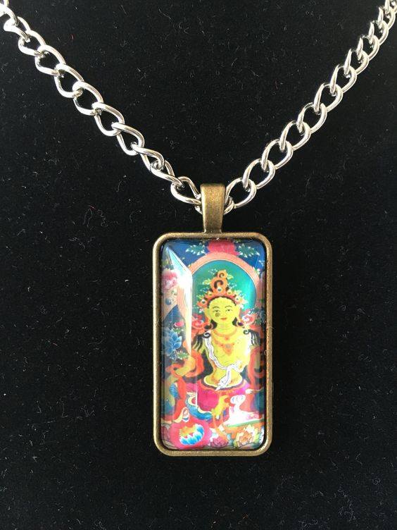 buy feng shui pendant necklace green tara at wwwexplosionluckcom buy feng shui