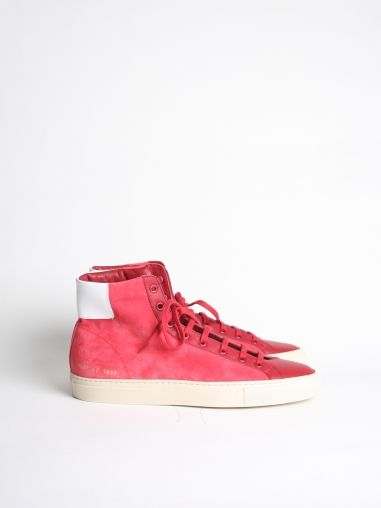 Common Projects-Achille Vintage High Red