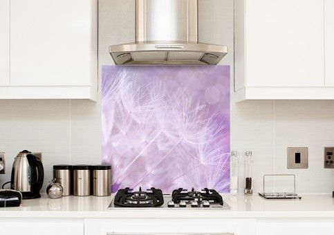 Credence Pissenlit Violet Fabulhouse Kitchen Ajoutez Une Touche D Originalite A Votre Cuisine Avec Ce Decor Doux Et Tendre Fab Emballage Carton