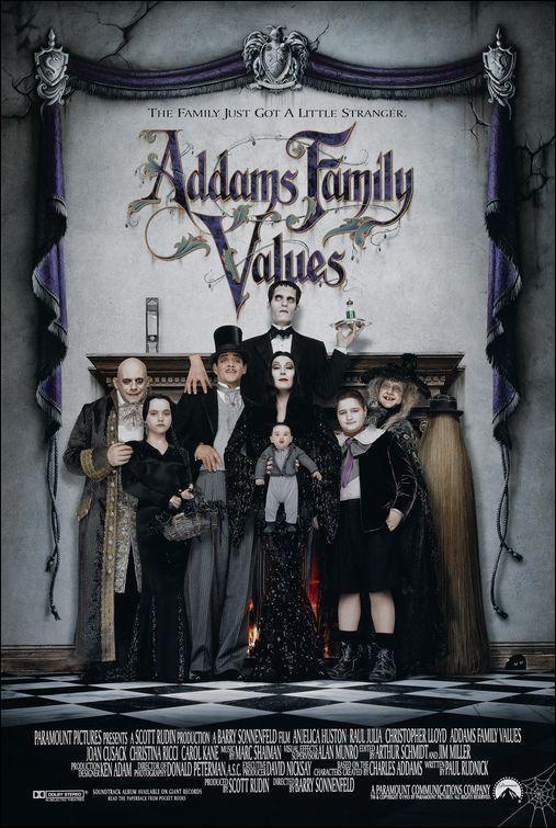 Los Locos Addams 2 1993 Filmaffinity La Familia Addams Valores Familiares Peliculas Familiares