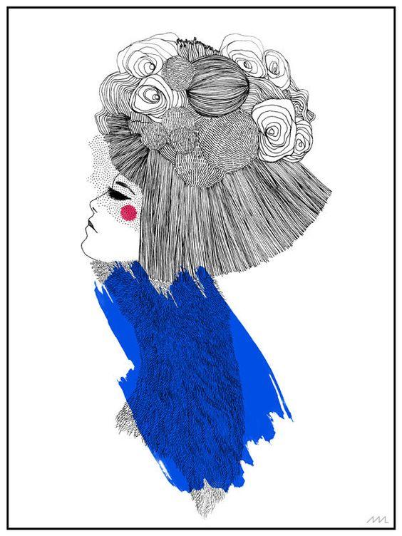 Ó magazine by martiszu ludvikez, via Behance // <3