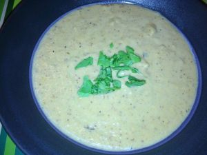 Creamy Cauliflower Bacon Soup