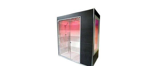 Cabine+douche+hammam+luxe+|+Clair+Azur+-+Découvrez+la+cabine+de+douche+hammam+Sensoriel+du+fabricant+Clair+Azur+:+un+carrelage+mosaïque+de+grande+qualité,+un+plafond+technique+programmable+avec+4+ambiances+de+bien-être.+par+Clair+Azur+http://clairazur.com/fr/