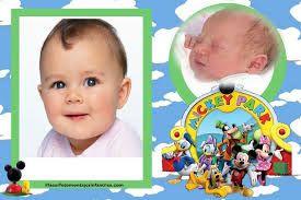 Resultado de imagen para que comida dar en un cumpleaños de 1 año de mickey mouse bebe
