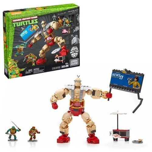 Teenage Mutant Ninja Turtles Classic Mega Bloks Krang/'s Rampage Playset