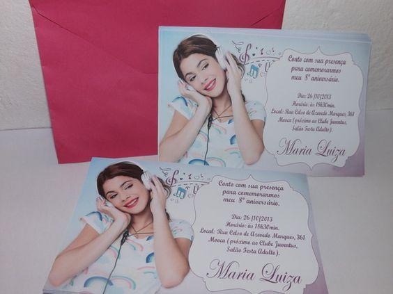 Convite com envelope, no tamanho 10x15, impresso em laser e em papel couchê 230g R$ 2,20