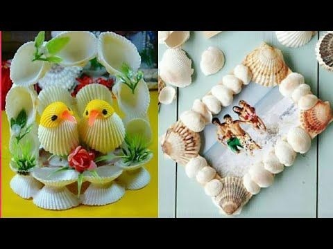 Seashell Craft Ideas For Room Decoration Diy Latest Unique
