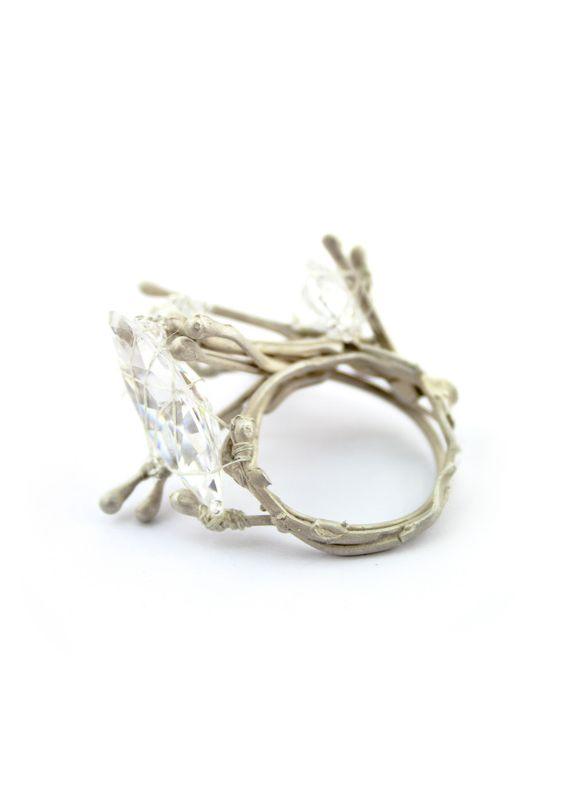 Adam Grinovich - ring, hairpin series