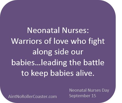 Thank You Nicu Nurses Nicu Nurses Day September   The