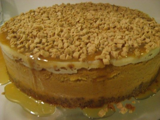 pumpkin toffee cheesecake.  Dang it. I did NOT need to know about this.