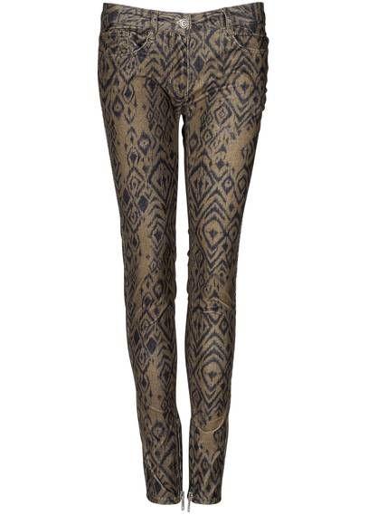 Pantalon velours imprimé Olive by #SANDRO #closet