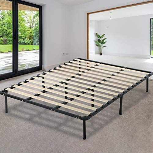 Paylesshere Platform Bed Frame Mattress Foundation Full Size Metal