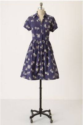 Anthropologie Bicycle print dress.