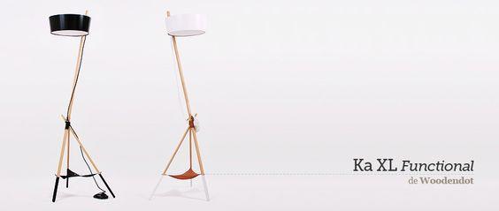 Lámpara de pie Ka XL Functional