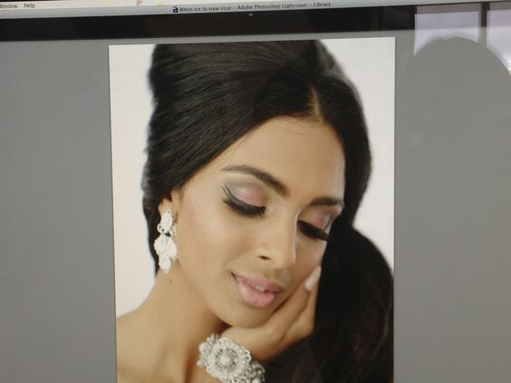 Indian Wedding Makeup At The Powder Room Brisbane
