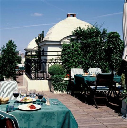 Restaurant - Les Jardins Plein Ciel - Hôtel Raphaël
