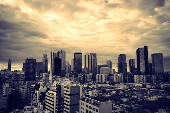 Shinjuku Skyline - Sony A7r - OGQ Backgrounds HD