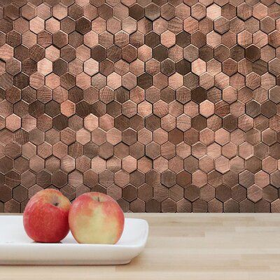 Design Is Personal 12 X 12 Pvc Peel Stick Mosaic Tile Wayfair In 2020 Mosaic Tiles Tile Design Adhesive Tile Backsplash