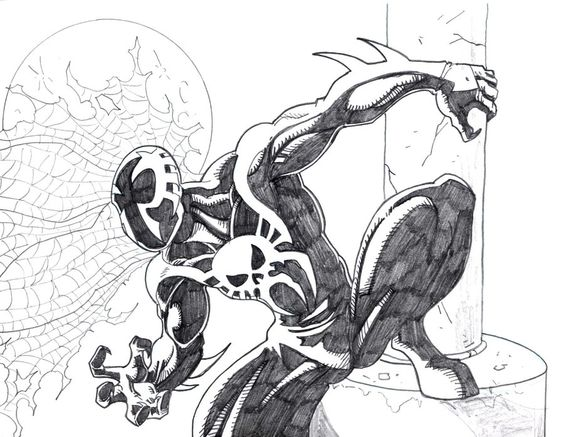 SpiderMan 2099 Coloring Pages  SpiderMan 2099 by OnoreOtaku