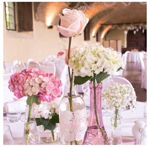 Hoy les mostramos un conjunto de centros de mesa con - Centros de mesa con flores ...