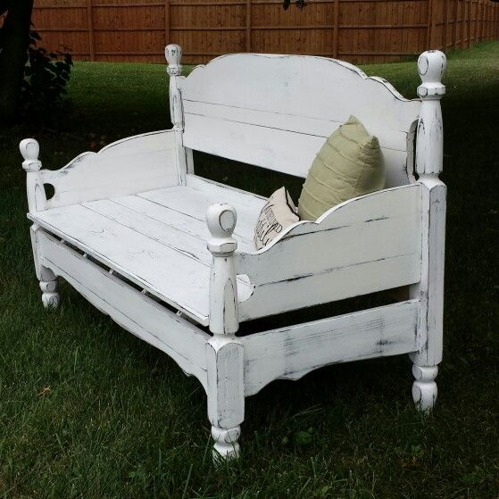 Antique Headboard Bench: Antique Headboard Bench $200 At Rustic Decor & More 812