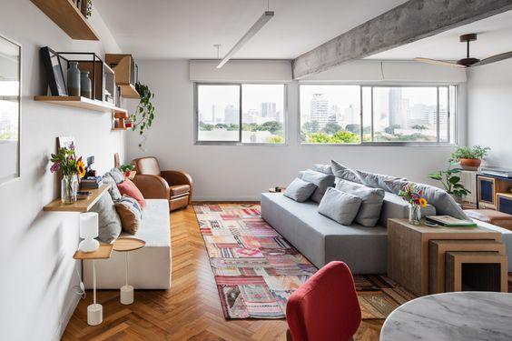 Ideias para decorar a sala de TV #hogarhabitissimo