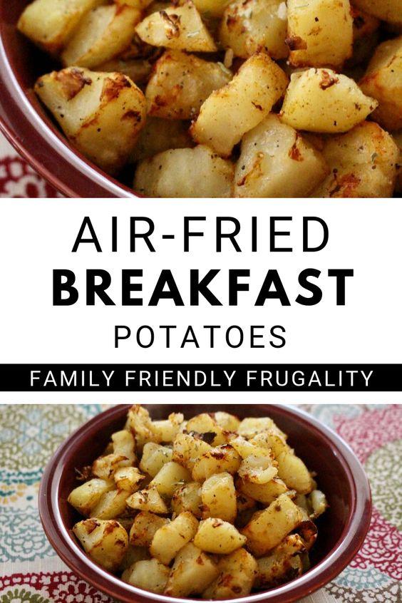 Air Fried Breakfast Potatoes