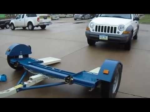Connecting A Stehl Tow Dolly With Jeep Patriot To Rv Motorhome