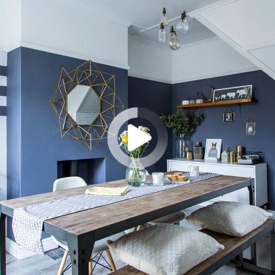 19+ Salle a manger bleu gris inspirations