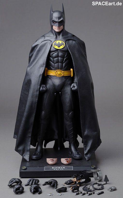 Batman 1: Batman (Michael Keaton) - Deluxe Figur, Fertig-Modell ... http://spaceart.de/produkte/bm006.php