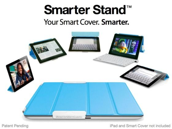 Smarter Stand for iPad -- Another great idea.
