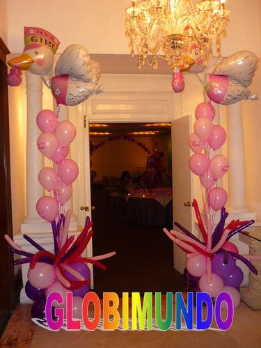 7 Top Tips For Throwing A Grand Party In A Small Home: Globos Para Decoración De Te De Canastilla