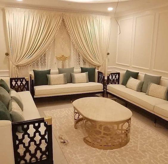 مفروشات إضاءات تفصيل جميع انوان المفروشات كنب ستائر مجالس عربيه جلسات مغربي وتنجيد تأثي A Wooden Sofa Designs Sofa Design Home Decor