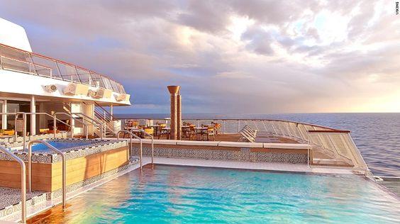 Viking Sea is the cruise brand's second luxury ocean vessel.