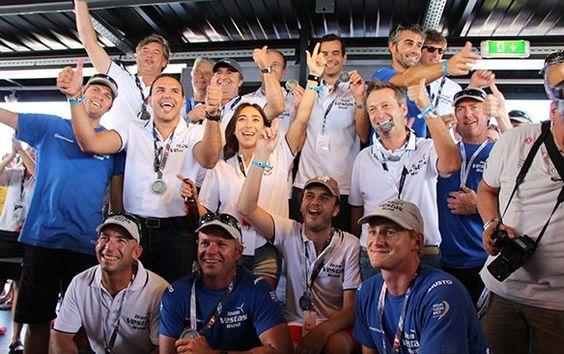 Customers engaged in winning experience in pro-am races in Alicante, Spain, before start of Volvo Ocean Race.