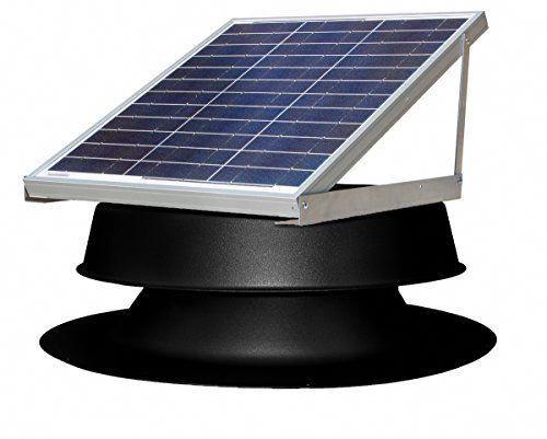 Renewableemergy Solar Attic Fan Solar Power Panels Solar Panel Cost