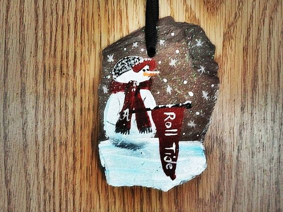Ornament celebrating Alabama  Roll Tide