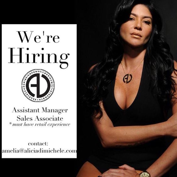 Want to be a part of the AD Girl Gang?! We are now hiring for both - retail sales associate