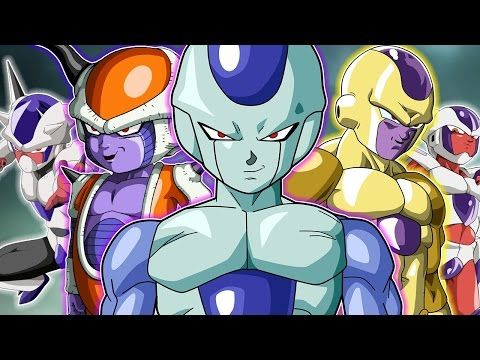 All Of Frieza S Race Forms And Transformations Youtube Frieza Race Frieza Anime