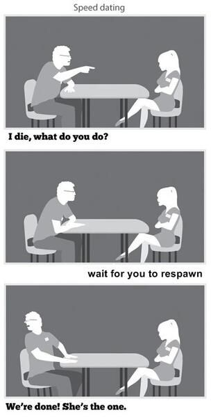 Lol! Sometimes you just know #geek #love