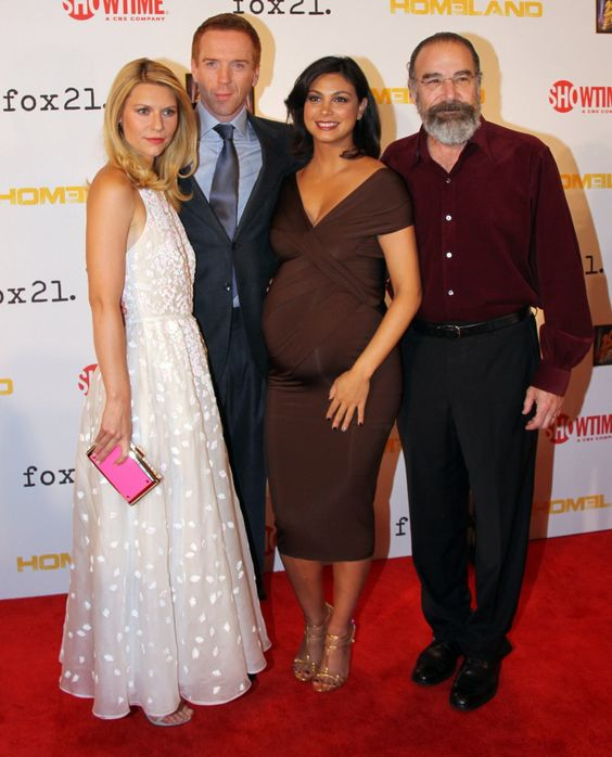 #Homeland - Damian Lewis, Claire Danes, Morena Baccarin and Mandy Patinkin.