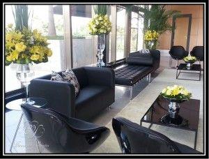 Lounge preto