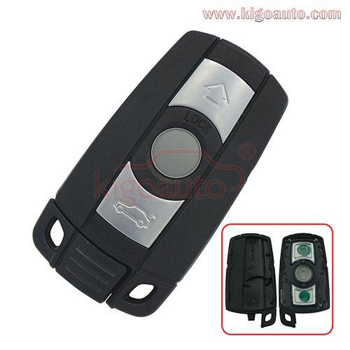 Smart Key Case 3 Button For Bmw 3 5 Series Smart Key Bmw Key Bmw