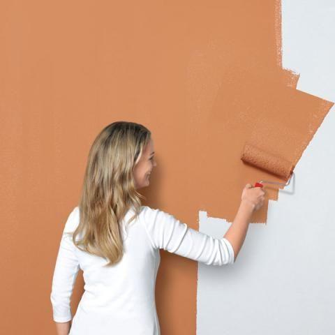 Wandgestaltung In Rost Optik Schoner Wohnen Farbe Schoner Wohnen Farbe Wandgestaltung Schoner Wohnen