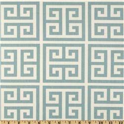 Premier Prints Towers Village Blue/Natural