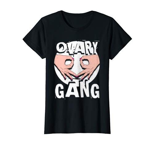Feminist Ovary Gang T Shirt Pink Tinted Girl Power Design Grab This Feminist Women S Power Tshirt Today For Your Everyday Resistan T Shirt Womens Rights Shirts