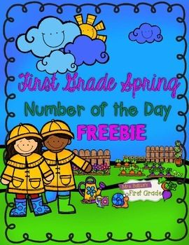 Spring Number of the Day FREEBIE!!!!  Get it now.